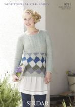Sirdar Softspun Chunky - 9711 Jumpers Knitting Pattern